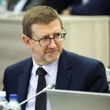 Etikos komisija dar kartą išteisino A. Šulcą