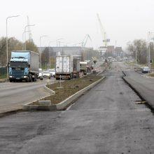 Jūrininkų prospektas: asfaltas yra, bet važiuoti draudžiama