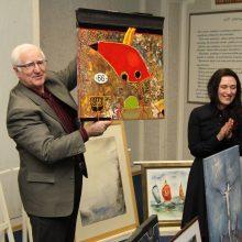 Ligoninės ir dailininkų draugystė pradėjo trečią dešimtmetį