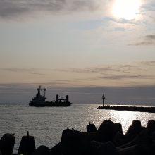 Mistiška uosto kaltė dėl krantų erozijos