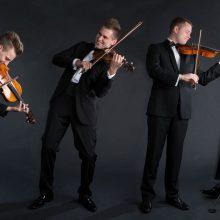 """Styginių kvartetas """"Mettis"""" grįžta į Klaipėdą"""