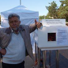 Palangiškis pradžiugimo nauju rekordu – mažiausia lietuviška knyga