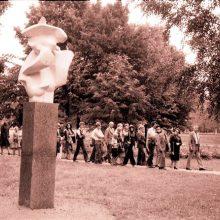 Skulptūrų parko 40-mečiui – paroda ir seminaras