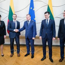 LFF ir Vyriausybė pasirašė susitarimą