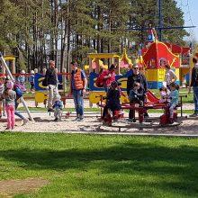 Palangos Vaikų parkas jau laukia mažųjų lankytojų