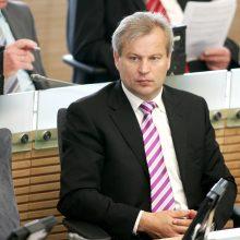 """Seimo vadovas tikisi, kad dėl M. Basčio apkaltos """"valstiečiai"""" balsuotų vieningai"""