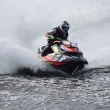 Lietuvos vandens motociklų čempionu pirmąkart tapo kaunietis M. Jačiauskas