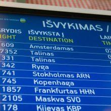 Dėl Vilniaus oro uosto rekonstrukcijos turistų sumažės beveik perpus?