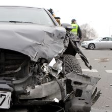 Per avariją Raseinių rajone nukentėjo trys žmonės