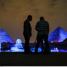 JAV politikas: Egipto piramidės buvo grūdų saugyklos, o ne faraonų kapai
