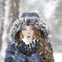 Pritrenkiamai graži net speiguotą žiemą