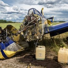 Paaiškėjo, kokius sužalojimus patyrė Aleksote nukritusio lėktuvo pilotė