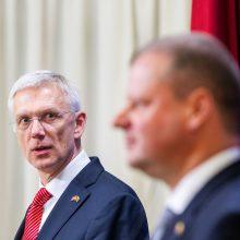 Latvijos premjeras: lietuviai – broliška tauta ir artimi sąjungininkai
