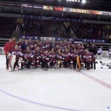 Lietuvos ledo ritulininkai palaužė ukrainiečius, turnyrą laimėjo latviai