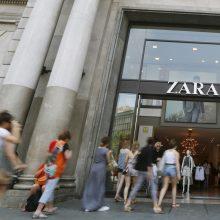 """""""Zaros"""" drabužių etiketėse – skundai dėl nesumokėto atlyginimo"""