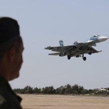 Prie Sirijos krantų sudužo dar vienas Rusijos naikintuvas