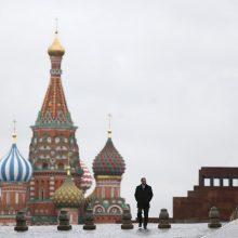 Maskvoje per Pasaulio futbolo čempionatą neleista rengti protestų