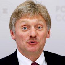 Kremlius nepatenkintas JAV ketinimu tiekti ginkluotę Ukrainai