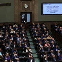 Lenkų parlamentarai pritarė Holokausto įstatymo pataisoms
