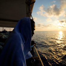 Viduržemio jūroje įstrigo laivas su 87 migrantais