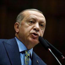 Turkijos prezidentas reikalauja žurnalisto žudikus teisti Stambule