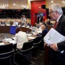 Europos Komisija atmetė Italijos pasiūlytą biudžetą