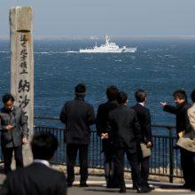 Japonija piktinasi naujomis rusų kareivinėmis Kurilų salose