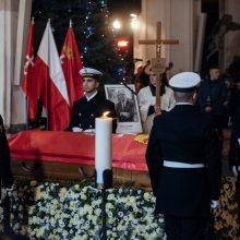 Lenkijoje bus laidojamas nužudytas Gdansko meras