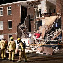 Nyderlanduose per dujų sprogimą daugiabutyje sužeisti devyni žmonės