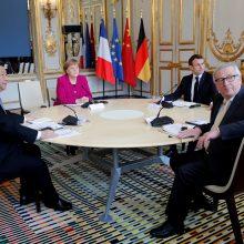 Kinijos prezidentas su svarbiausiais ES lyderiais aptars ryšių stiprinimą
