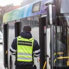 Sostinės viešojo transporto kontrolieriams – nauji mikroautobusai