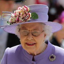 D. Trumpas Britanijoje ketina susitikti su karaliene Elizabeth II