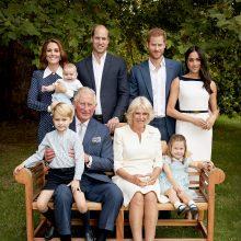 Princas Charlesas 70-metį mini šeimos švente