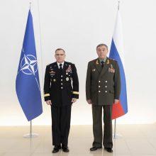 Rusijos kariuomenės vadas kaltina NATO telkiant pajėgas prie jos sienų