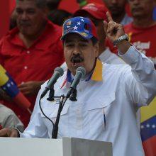 """N. Maduro JAV apkaltino samdinių """"sąmokslo"""" jį nužudyti finansavimu"""