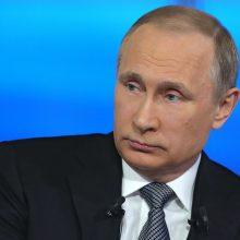 V. Putinas vyksta į Turkiją aptarti ginkluotės pirkimo sandorio