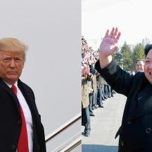 Šiaurės Korėja D. Trumpo žinutę pavadino pasiutusio šuns skalijimu