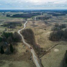Kelio Molėtai–Anykščiai ruožo rekonstrukciją planuojama baigti iki rugsėjo