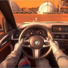 Prieš pasaulinę premjerą automobilį siūlo išbandyti Marse