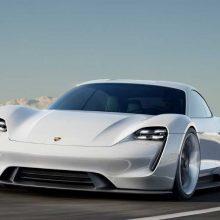 """Pirmajam elektra varomam """"Porsche"""" – ypatingas pavadinimas"""
