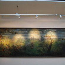 Karo muziejaus ekspozicija pasipildė išskirtiniu paveikslu