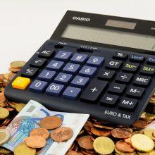 Valdžia šiemet nesurinko 14,3 mln. eurų planuotų pajamų