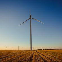 Vėjo jėgainių gamybos apimtys pasiekė visų laikų rekordą