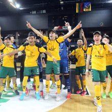 "Lietuvos salės futbolo taurės finale – ""Vyčio"" triumfas"