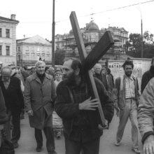 Vilniuje laidojamas disidentas P. Cidzikas