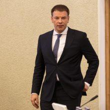V. Šapoka pradeda turą apie mokesčių reformą