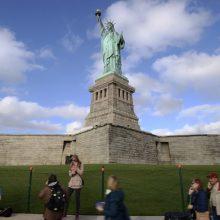 Niujorkas sulaukė rekordinio lankytojų skaičiaus