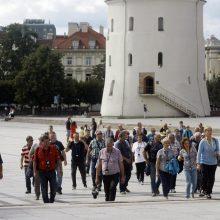 Vilnių atranda vis daugiau turistų
