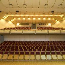 Po Vilniaus kongresų rūmų rekonstrukcijos – ne tik geresnė akustika