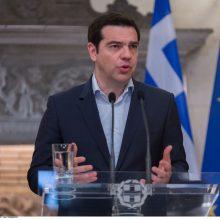 Graikijos premjeras laimėjo balsavimą dėl pasitikėjimo